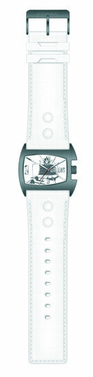 Doctor Who Watch - Dr. Who Dalek Analog Watch - White - SuperheroWatches.com
