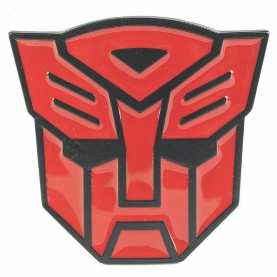 Transformers Autobot Belt Buckle (Red) - SuperheroWatches.com