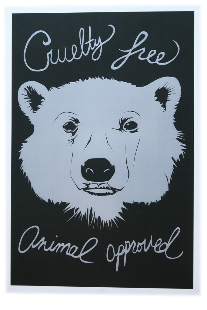Cruelty Free Bear Poster