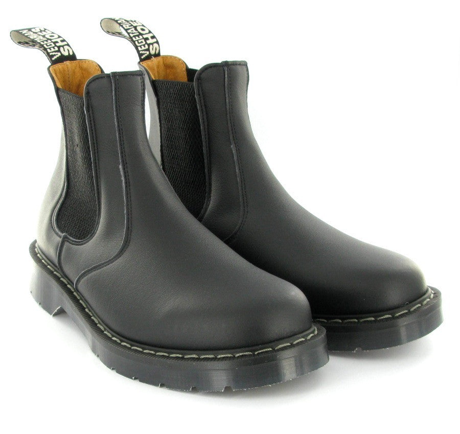 Chelsea Boot in Black from Vegetarian Shoes