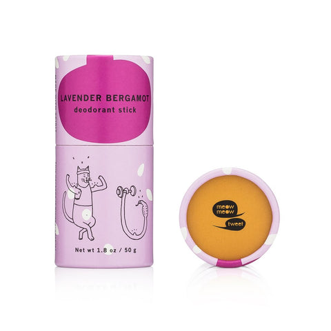 Deodorant Stick in Lavender Bergamot from Meow Meow Tweet