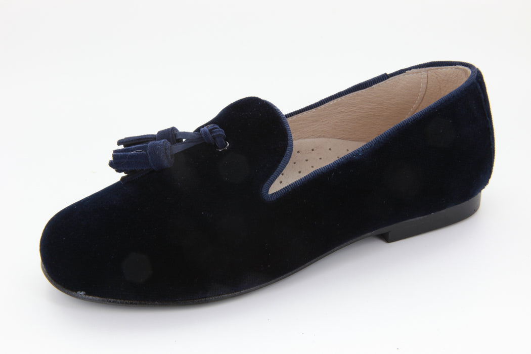 Sebastion's Tassel Loafer - Navy Velvet