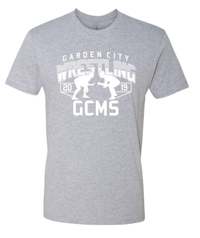 GCMS Wrestling Youth and Adult Tee 3600 NO NAME
