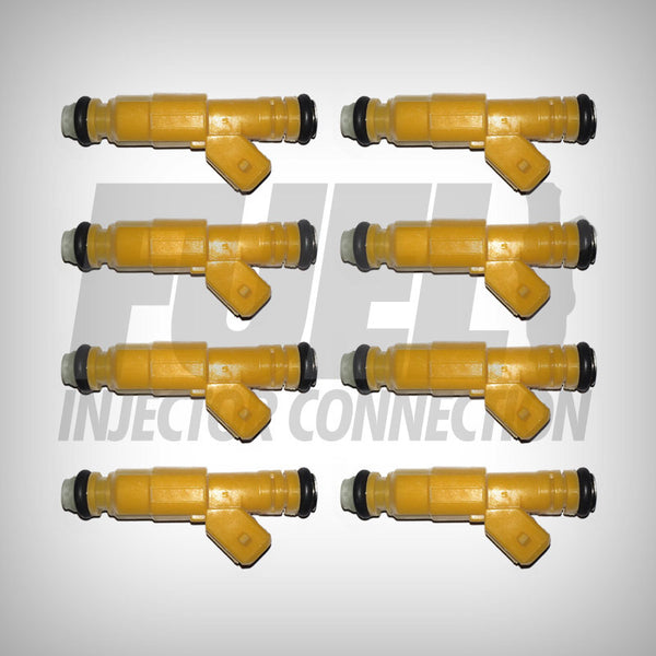 Cadillac 4.9 Bosch III Design Set of 8 - Fuel Injector Connection