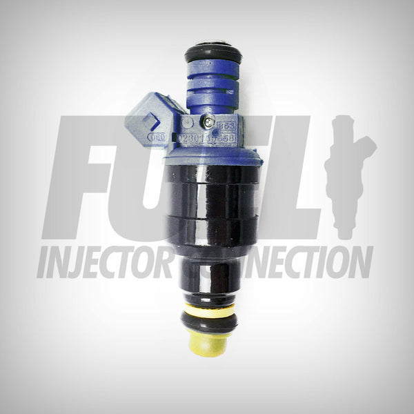 85-96 FIC Blue Demon 24 LB Fuel Injectors Design 2 - Fuel Injector Connection