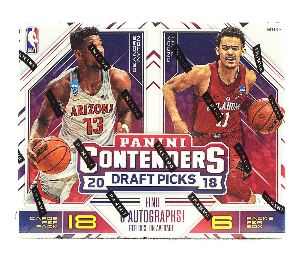 2018/19 Panini Contenders Draft Picks Basketball Box