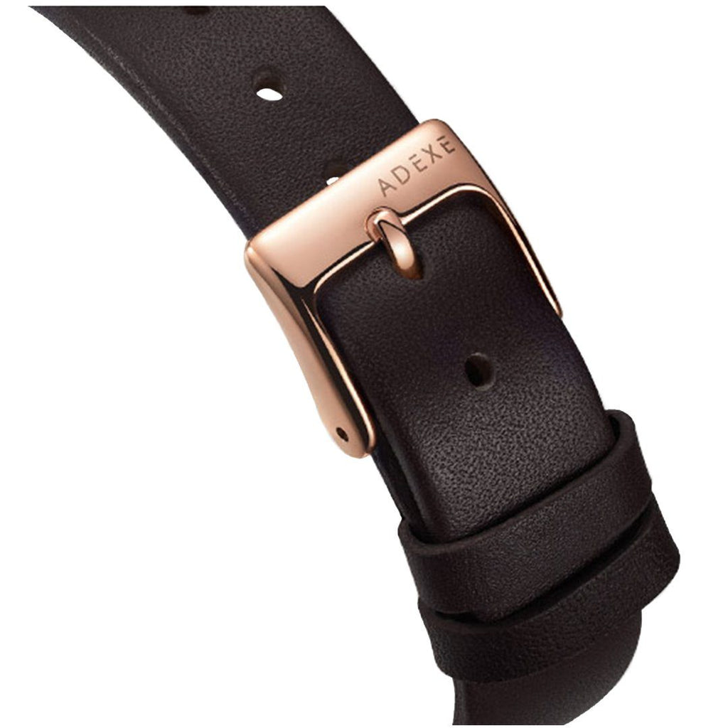 Buckle and Strap of MAC Petite Brown & RoseGold