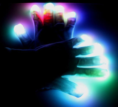LED Gloves - Fusion