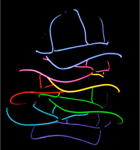 Light Up EL Wire Hat