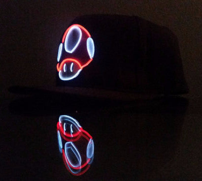 Light Up Mushroom Hat - Twisted Glow