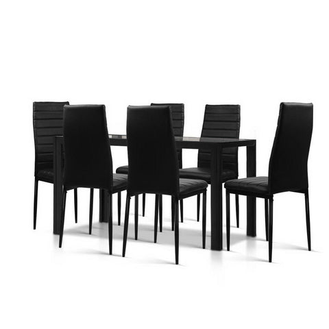 cheap black dining table sets