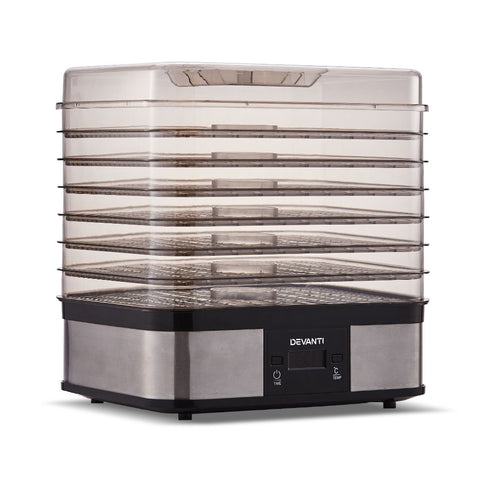 5 Star Chef Food Dehydrator with 7 Trays - Silver