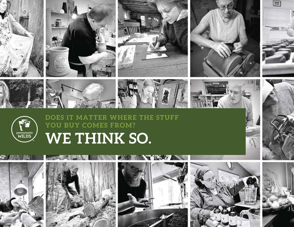photo collage of selected Wilds Cooperative Creative Makers