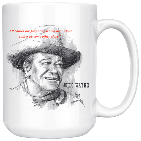 John Wayne Mug 15oz Choose From Different Famous Movie Quotes