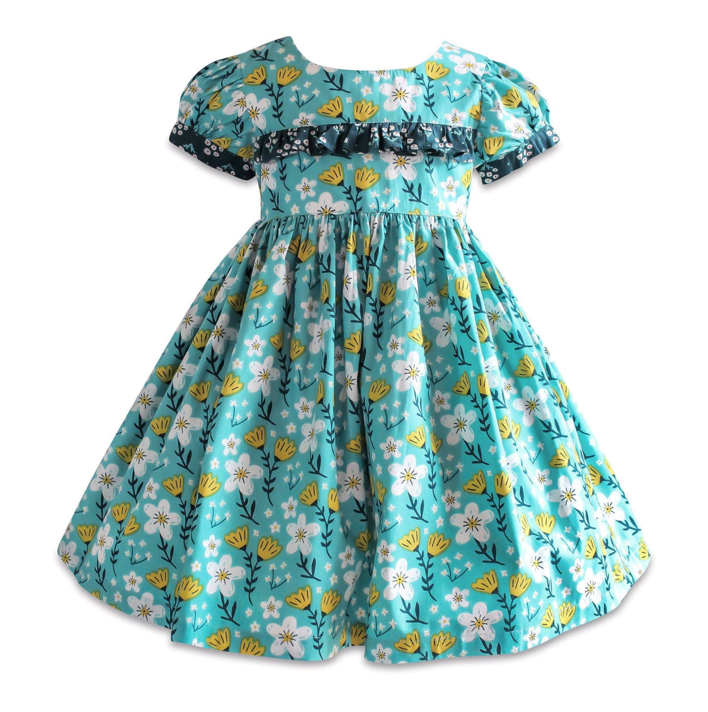 Blue Bird Hyde Street Dress - Little Miss Marmalade