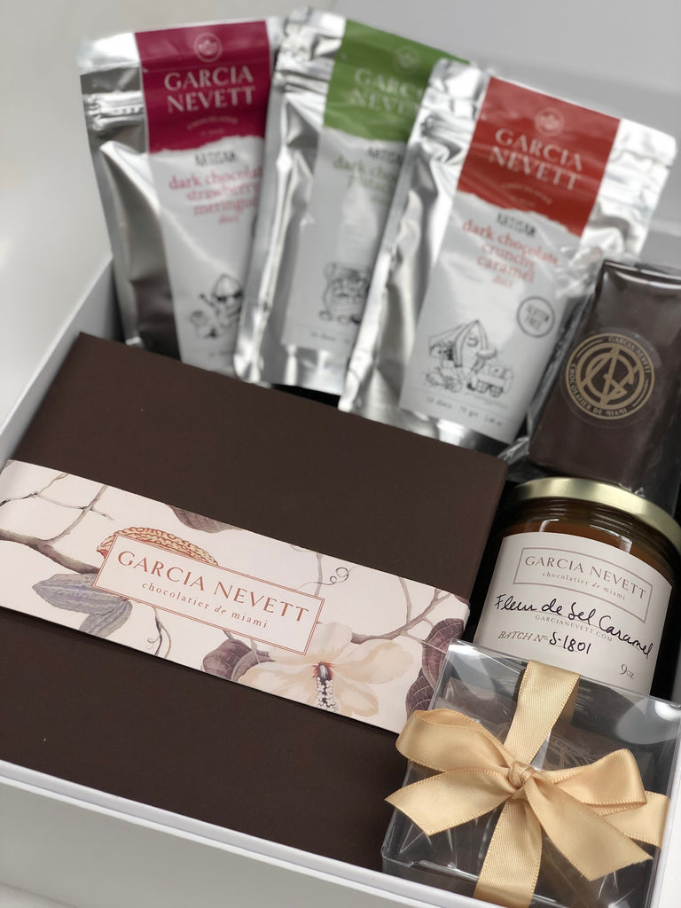 Chocolate Gift Baskets elevated by Garcia Nevett