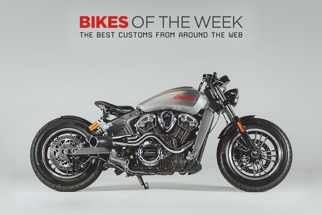 Rogue Indian Scout Bobber features on Bike EXIF