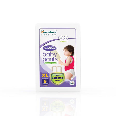 Himalaya Total Care Baby Pants XL (9 Count) - (12-17 Kg)