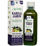 Axiom Karela Jamun Swaras 500 ML For Diabetes, Eye Sight, Constipation, Skin Diseases, Immune System