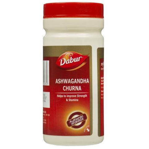 Dabur Ashwagandha Churna Powder - Improves Old Age Debility & Immunity