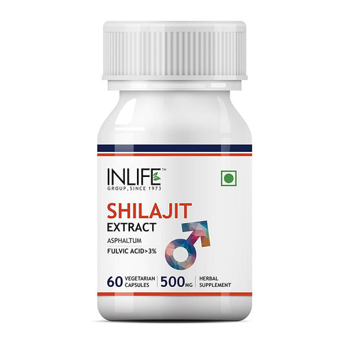 Inlife Shilajit Extract 500mg for Sexual Health