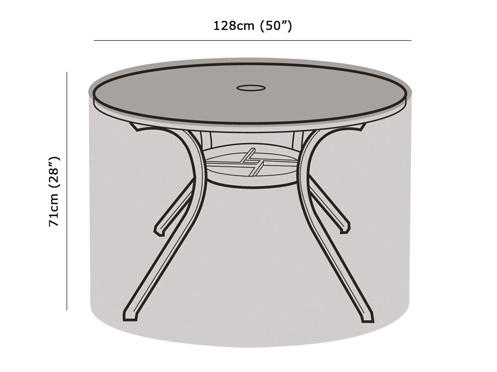 4-6 Seater Round Table Cover