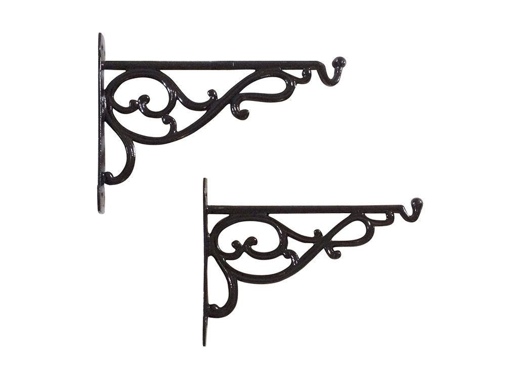 Cast Aluminium Hanging Basket Brackets