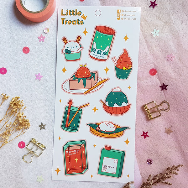 Chocorutt Little Treats Sticker Sheet V1