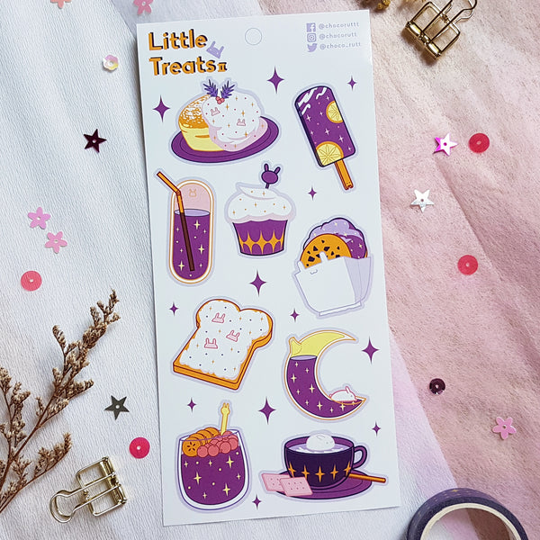 Chocorutt Little Treats Sticker Sheet V2