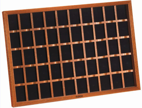 50 piece wooden lighter display