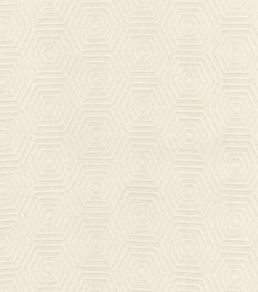 590742 Hex Appeal Ivory Pk Lifestyles Fabric