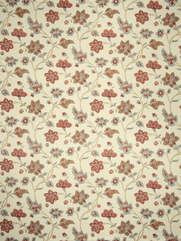 Charleston Babette Rose Floral Fabric