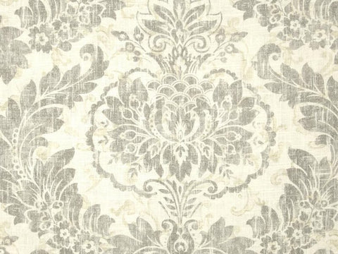 Covington Downton Blend Graphite Floral Fabric