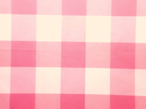 P Kaufmann Call Me 543 Petal Check / Plaid Fabric