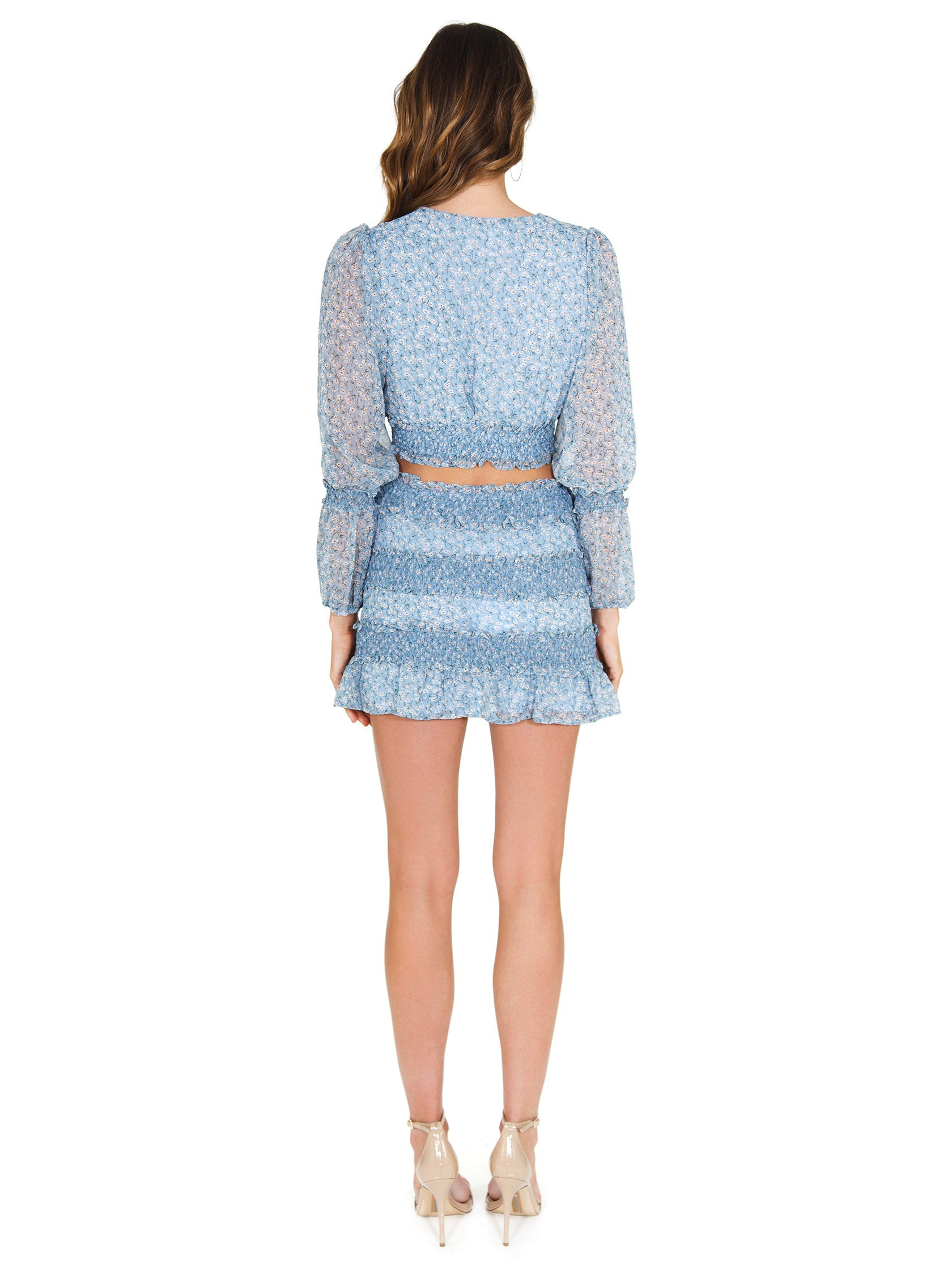 Women outfit in a two piece rental from FashionPass called Sweet Caroline Two-piece Set