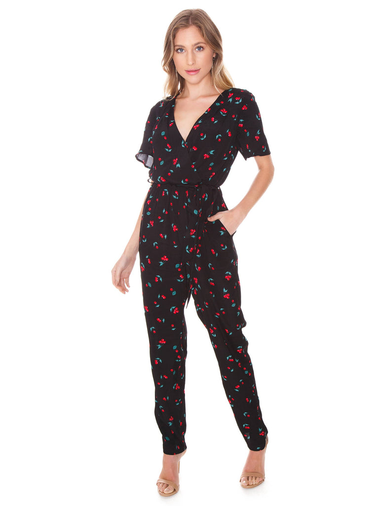 Women outfit in a jumpsuit rental from MINKPINK called Lucia Off Shoulder Top