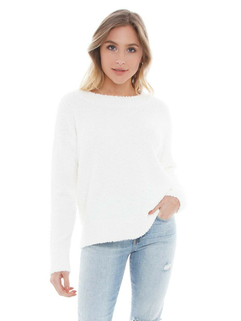 Woman wearing a sweater rental from SANCTUARY called Combat Crop Pants