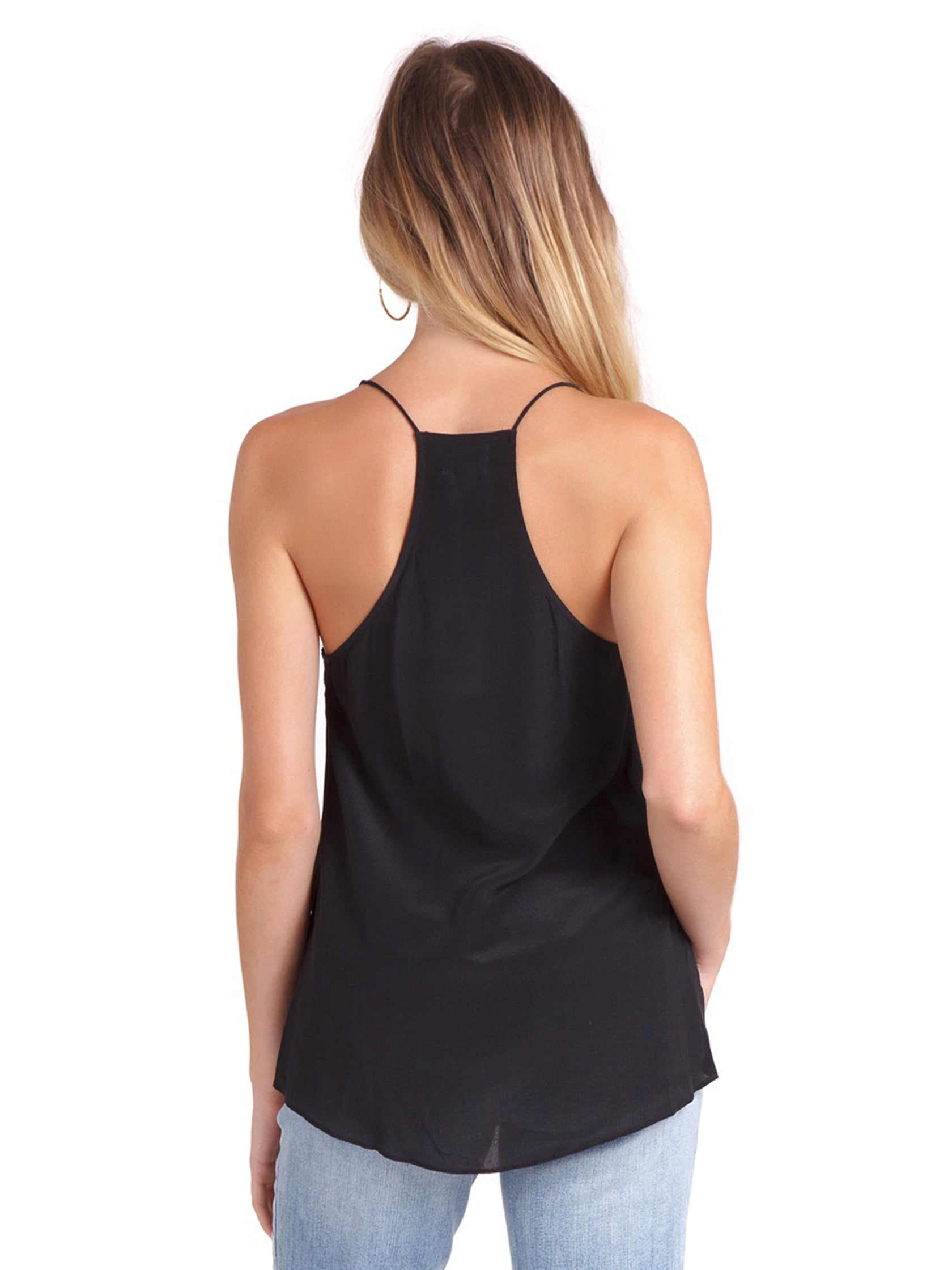 Women outfit in a cami rental from Cami NYC called The Racer Cami