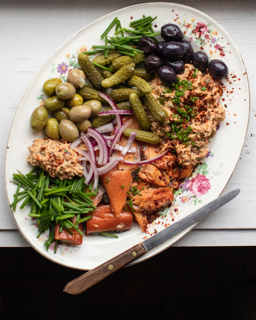 Smoked Salmon and Harissa Spread