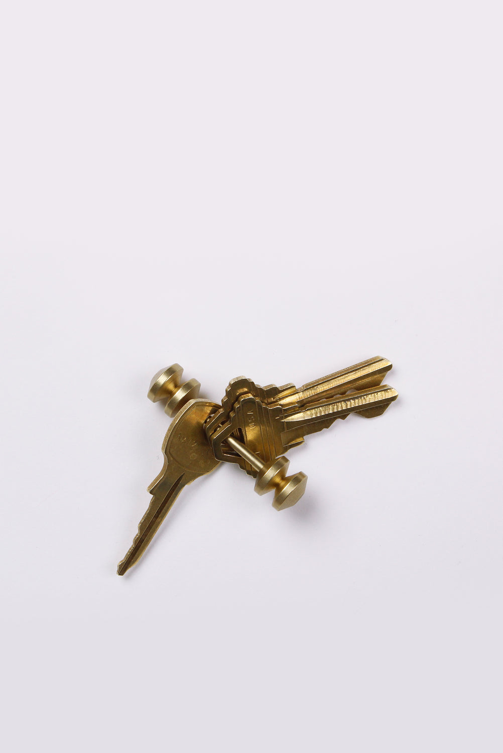 Abacus Brass Totem Key Holder