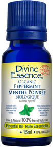 Divine Essence - Peppermint Organic Essential Oil - The Niche Naturals