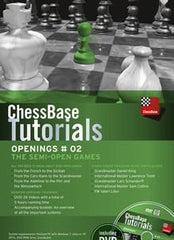 ChessBase Tutorials Openings 2: The Semi-Open Games - Software DVD - Chess-House
