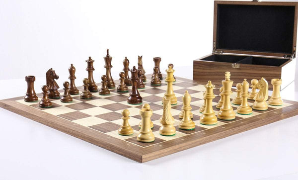 Economical Scout Chess Set with Storage Chess Set