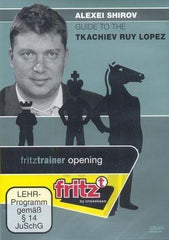 Guide to the Tkachiev Ruy Lopez - Shirov - Software DVD - Chess-House