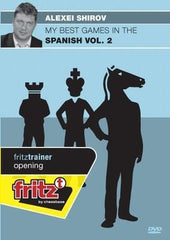 My Best Games in the Spanish Volume 2 - Shirov - Software DVD - Chess-House