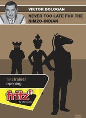 Never Too Late for the Nimzo-Indian - Bologan - Software DVD - Chess-House