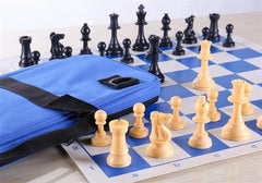 Regulation Chess Set - Blues - Chess Set - Chess-House
