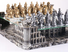 Roman Gladiators 3D Chess Set - Chess Set - Chess-House