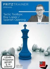 Tactic Toolbox: Spanish Opening / Ruy Lopez - Collins - Software DVD - Chess-House