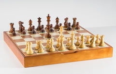 The Grandmaster Chess Set and Storage Board Combination - Chess Set - Chess-House